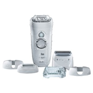 Braun silk epil 7-561 wet and dry cordless epilator review