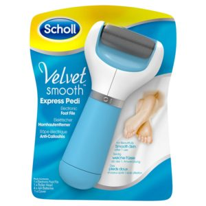 Scholl Velvet Smooth Express Pedi Electronic Foot File Review